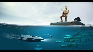 Подводный рыбацкий дрон PowerRay