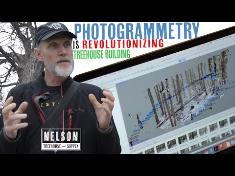 Photogrammetry is revolutionizing treehouse building!