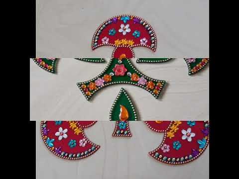 Acrylic rangoli # bhagya creations #8554975596