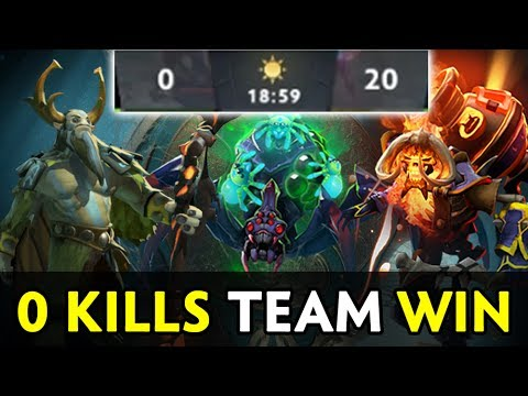 0 kills team can win? The International 2017 insane strat