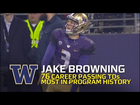 Highlight: Washington's Jake B jake browning