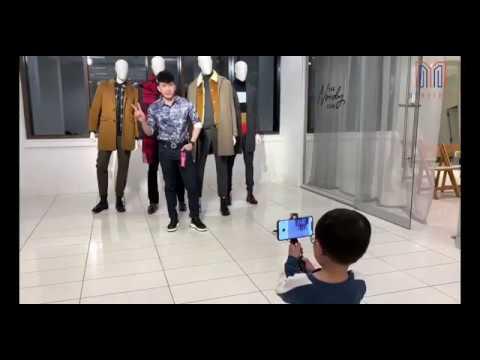 Ba Đan Trường Làm Người Mẫu Cho Thiên Từ Chụp ảnh