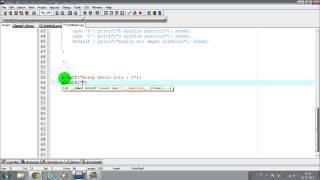 C Programlama Ders 7 Switch Case Kullanımı