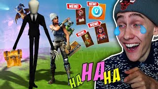 1X LAUGH = 1X SKIN BUY! (Fortnite NOT LAUGHING Challenge)