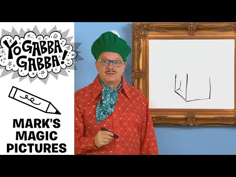 Mark's Magic Picture - Bag Of Groceries - Yo Gabba Gabba!