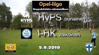 Opel-Liiga HYPS Punainen vs I-HK Valkoinen 5.9.2019