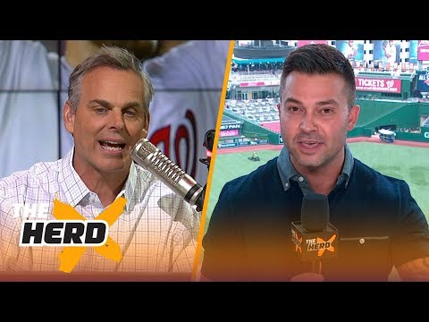 Nick Swisher talks Bryce Harper's Home Run Derby win, 2018 MLB All-Star Game  | MLB | THE HERD