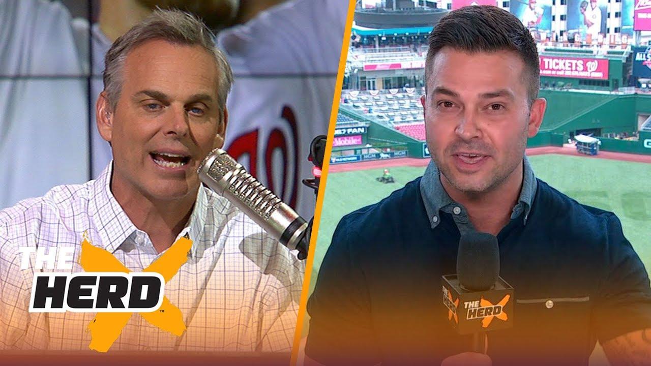 Nick Swisher talks Bryce Harper's Home Run Derby win, 2018 MLB All-Star Game  | MLB | THE HERD