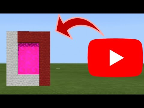 CARA MEMBUAT PORTAL YOUTUBE - MINECRAFT