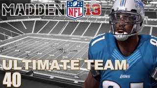 Madden 13 Ultimate Team : Playing Against A Subscriber Ep.40