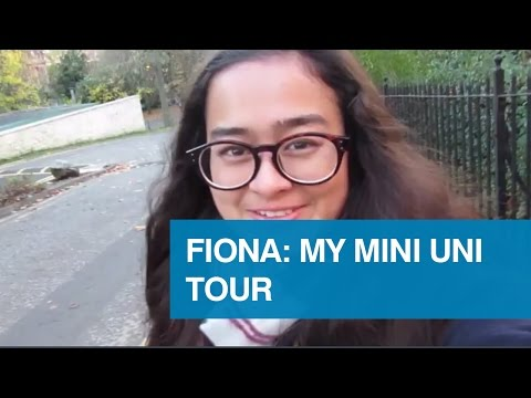 Fiona: my mini uni tour