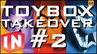 Disney Infinity 3.0 Toybox Takeover - Part 2 - Pitta Patta Pirates