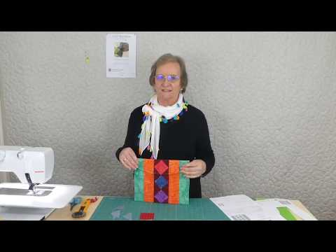 """2 1/2"""" strips projects - Project 06 - Envelope Pouch from YouTube · Duration:  17 minutes 4 seconds"""