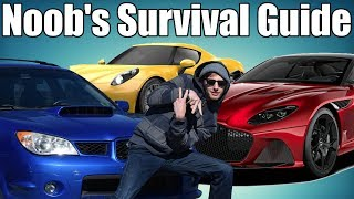 Noob's Guide To The Car Community!