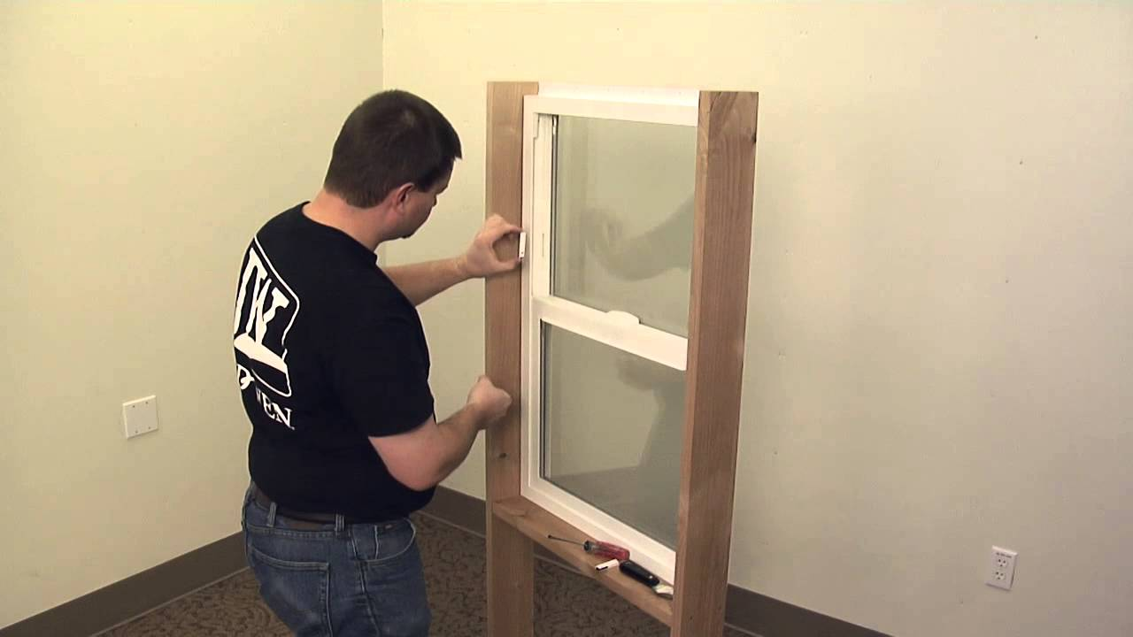 How To Replace A Vinyl Window Secondary Vent Stop Youtube