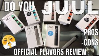 JUUL | JUUL Review | Flavors Review | PROS CONS