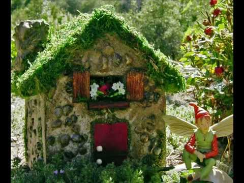 fairy houses for the garden i how to make fairy houses for the garden youtube. Black Bedroom Furniture Sets. Home Design Ideas