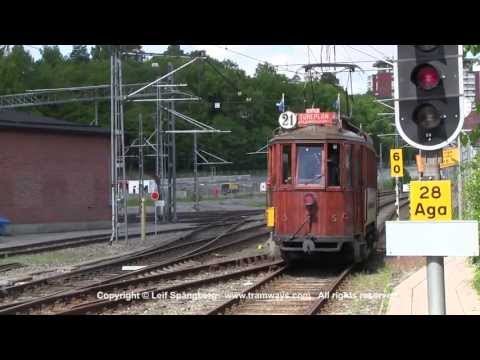 Tram # 5 on Lidingöbanan, Stockholm
