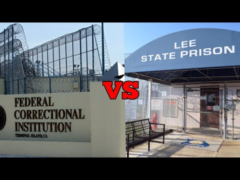 Top 3 Differences Between State & Federal Prison