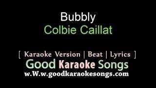 Bubbly - Colbie Caillat (Lyrics Karaoke) [ goodkaraokesongs.com ]
