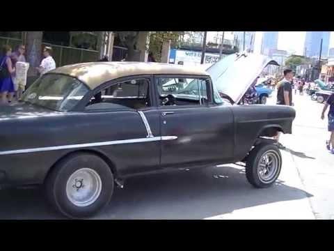 Dallas Car Show >> 1955 Chevy Gasser | LS1 Drag Racer - YouTube