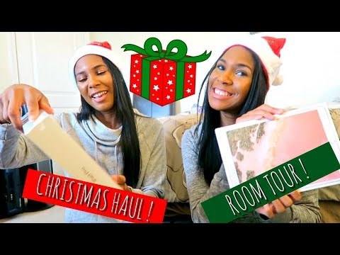 VLOG: Home for the Holidays Room Tour + What We Got For Christmas 2017