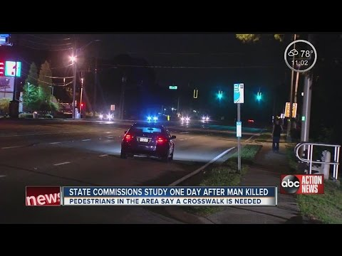 FDOT considering crosswalk one day after deadly Clearwater pedestrian accident