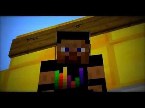 The Script - Hall of Fame (Minecraft Videoclip and Lyrics)