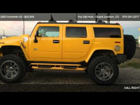 2003 Hummer H2 4x4 With 8inch Lift For Sale In Grand Junction Co