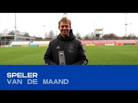SPELER VAN DE MAAND | Frenkie de Jong