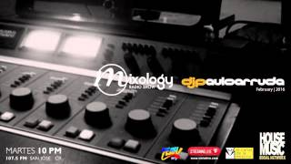 DJ Paulo Arruda  Deep House Mixology Radio Show Feb 23th | 2016