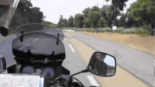Свадебное турне. 1-я часть путешествия на мотоцикле.