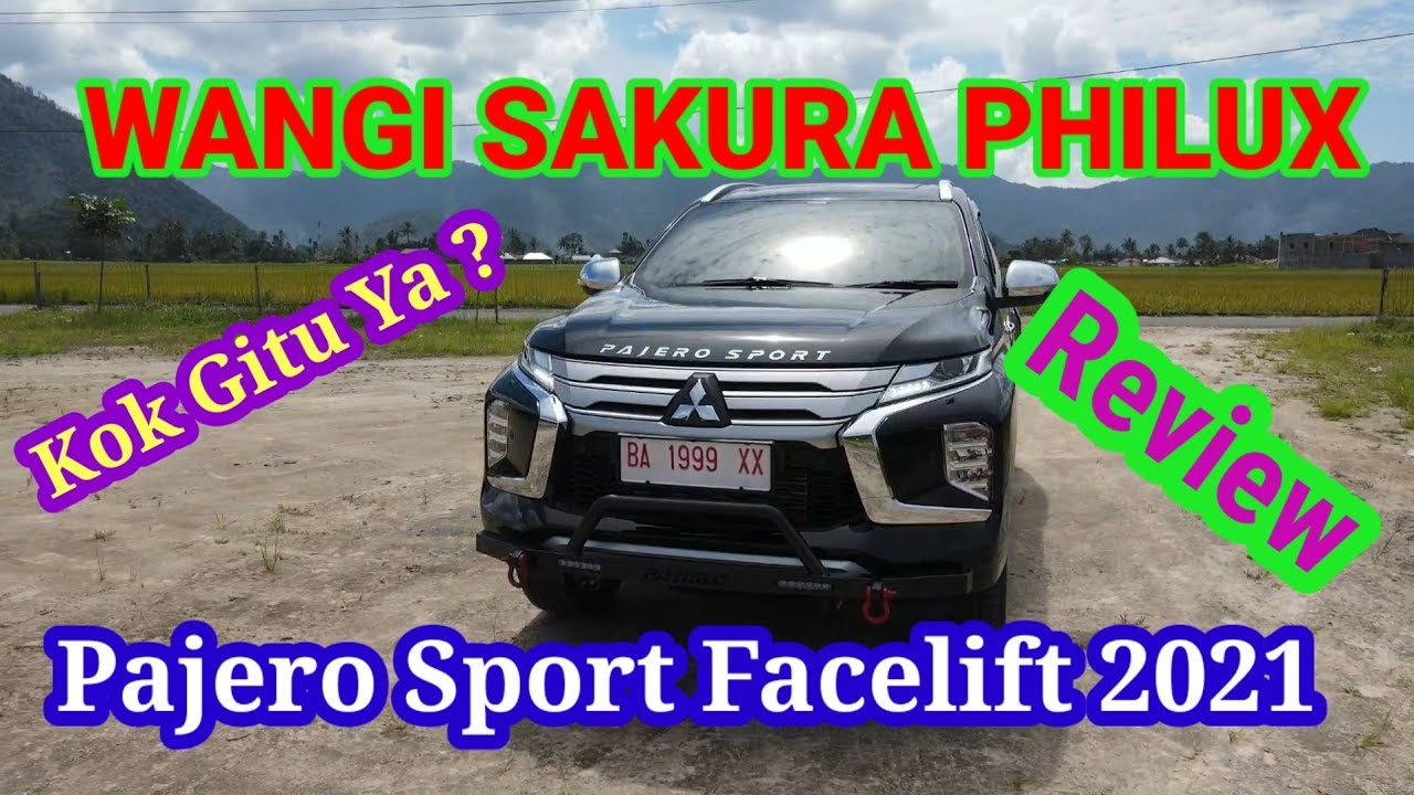 Review Pajero Sport Facelift 2021