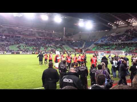 Dernière Sortie de Julien Feret avec le Stade Rennais