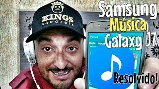 Reprodutor de musica samsung galaxy j5