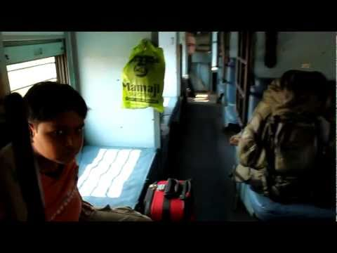 Indian train in SLeeper class
