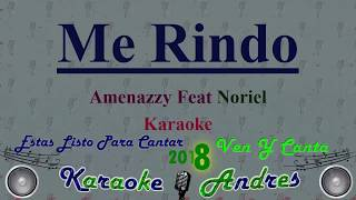 Me Rindo - Santana The Golden Boy, Amenazzy y Noriel || Karaoke ||