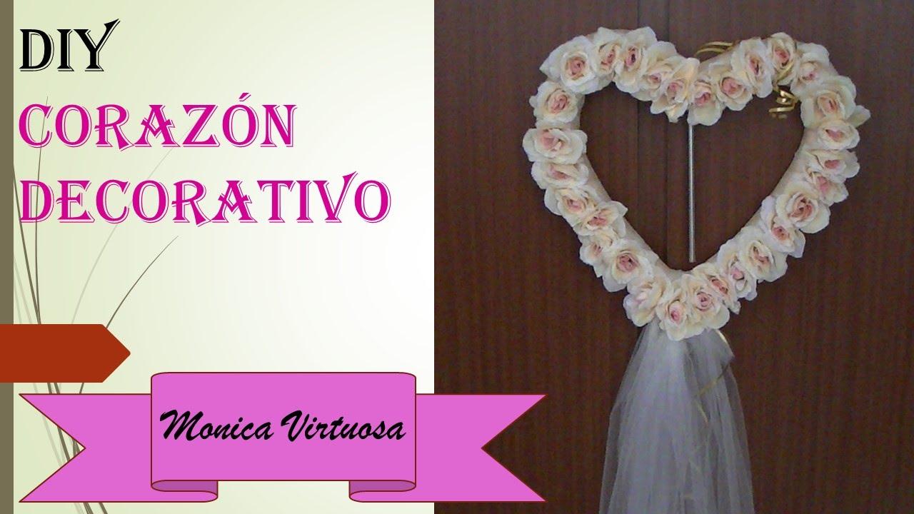 Coraz n para boda youtube - Como hacer adornos para fiestas ...