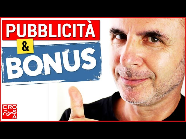 Pubblicità esterna e bonus