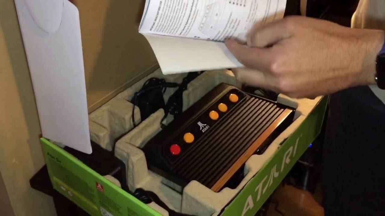 Atgames Atari Flashback 7 Unboxing Youtube