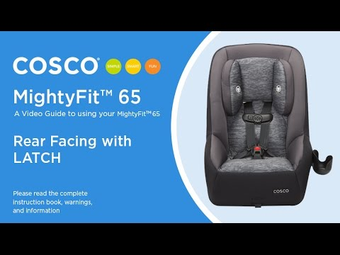 How to adjust straps or reassemble cosco scenera next car seat.