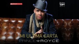 Video Mi Última Carta Prince Royce