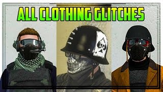 GTA ONLINE - ALL CLOTHING GLITCHES AFTER PATCH 1.36 (Helmet, Hat & Glasses + More)
