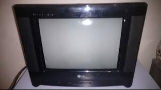 (12)# TV 14 POLEGADAS LG TODO APAGADO