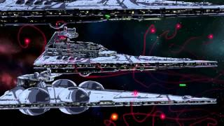 Star Wars Tie Fighter Anime by Paul Johnson
