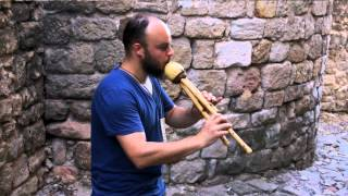 Flute Performance by Jean-Daniel Musician and Instrument maker (Luthier)