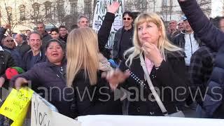 Milano, ambulanti in presidio per chiedere deroga per Area B