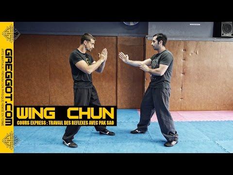 Wing Chun - Cours Express : Réflexes sur Pak Sao