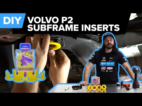 Volvo Subframe Bushing Insert/Reinforcement DIY (Volvo P80, P2 Chassis – 850, C70, S60, S70 & More)