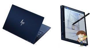 HP Elite Dragonfly — самый лёгкий в мире компактный ноутбук-трансформер